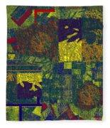 0466 Abstract Thought Fleece Blanket