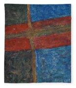 047 Abstract Thought Fleece Blanket