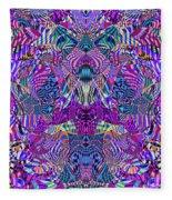 0476 Abstract Thought Fleece Blanket