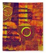 0482 Abstract Thought Fleece Blanket