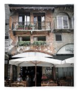 0505 Verona Cafe Fleece Blanket