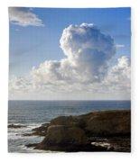 0514 Yaquina Lighthouse Fleece Blanket