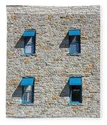 0547 Windows Fleece Blanket