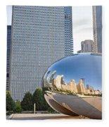 0553 Millennium Park Chicago Fleece Blanket