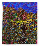 0629 Abstract Thought Fleece Blanket