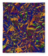 0630 Abstract Thought Fleece Blanket
