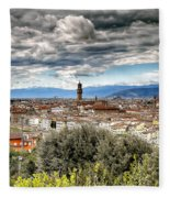 0753 Florence Italy Fleece Blanket