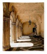 0758 Doge Palace - Venice Italy Fleece Blanket