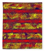 0759 Abstract Thought Fleece Blanket