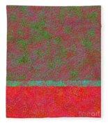 0764 Abstract Thought Fleece Blanket