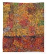 0774 Abstract Thought Fleece Blanket