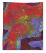 0782 Abstract Thought Fleece Blanket