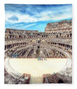 0795 Roman Colosseum Fleece Blanket