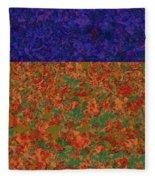 0834 Abstract Thought Fleece Blanket