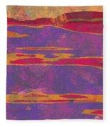 0858 Abstract Thought Fleece Blanket
