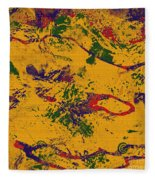 0859 Abstract Thought Fleece Blanket