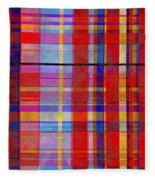 0865 Abstract Thought Fleece Blanket