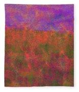 0867 Abstract Thought Fleece Blanket