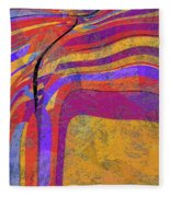 0871 Abstract Thought Fleece Blanket