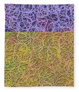0872 Abstract Thought Fleece Blanket