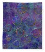 0877 Abstract Thought Fleece Blanket