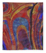 0880 Abstract Thought Fleece Blanket