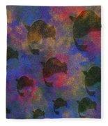 0885 Abstract Thought Fleece Blanket