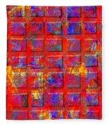 0890 Abstract Thought Fleece Blanket