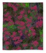 0901 Abstract Thought Fleece Blanket