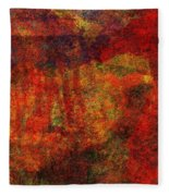 0911 Abstract Thought Fleece Blanket