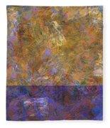 0913 Abstract Thought Fleece Blanket