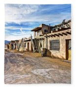 0926 Sky City - New Mexico Fleece Blanket