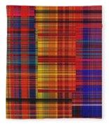 0942 Abstract Thought Fleece Blanket