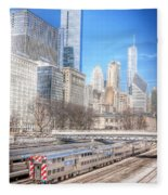 0945 Chicago Fleece Blanket