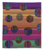 0948 Abstract Thought Fleece Blanket