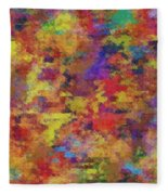 0955 Abstract Thought Fleece Blanket