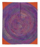 0965 Abstract Thought Fleece Blanket