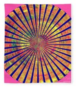 0966 Abstract Thought Fleece Blanket