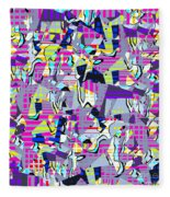0978 Abstract Thought Fleece Blanket