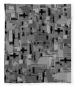 0992 Abstract Thought Fleece Blanket