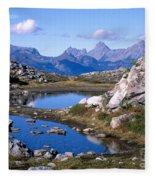 Artist Ridge Tarns Fleece Blanket