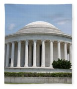 Thomas Jefferson Memorial Fleece Blanket