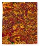 0202 Abstract Thought Fleece Blanket