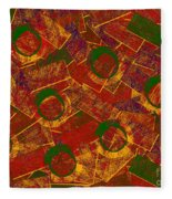 0255 Abstract Thought Fleece Blanket