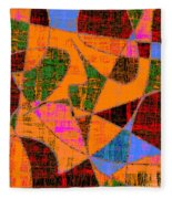 0267 Abstract Thought Fleece Blanket