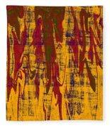 0280 Abstract Thought Fleece Blanket