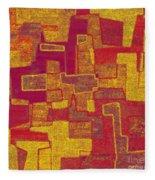 0296 Abstract Thought Fleece Blanket