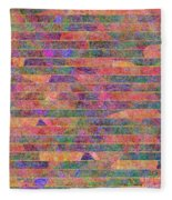 0310 Abstract Thought Fleece Blanket