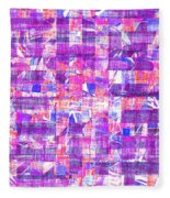 0397 Abstract Thought Fleece Blanket