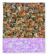 0415 Abstract Thought Fleece Blanket